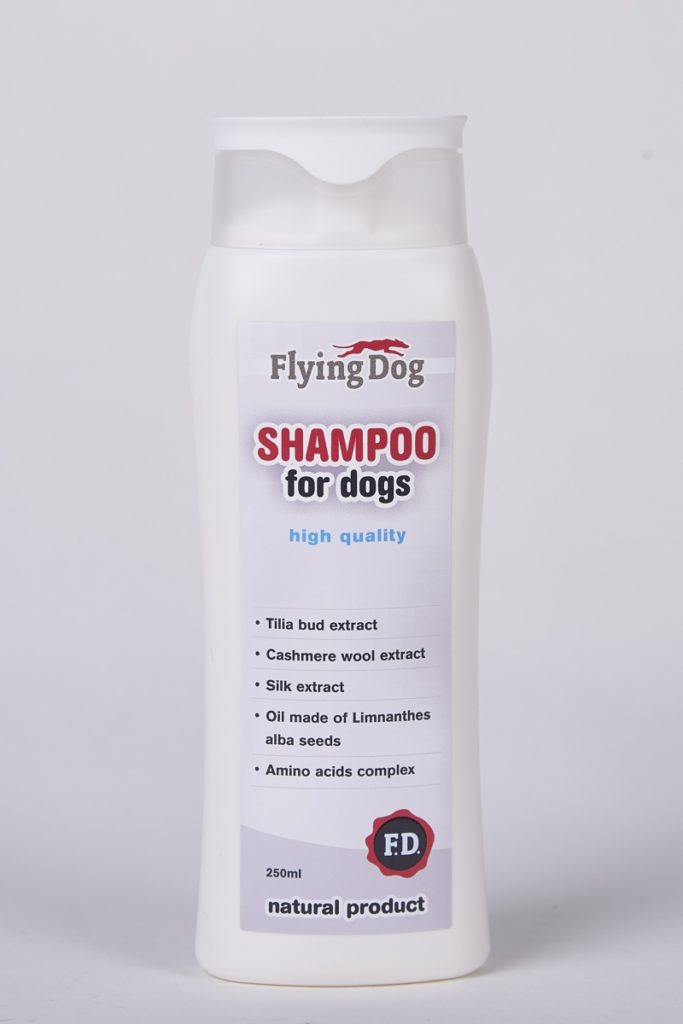 šampón pre psy